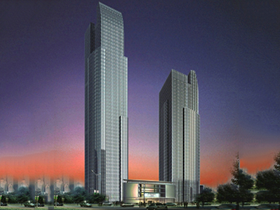 Hangzhou Tallest Building-New World Fortune Center